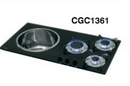 FLUSH MOUNTING COMBO UNIT with SINK and 3 BURNER HOB