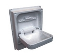 CLEO TIP UP SINK - WHITE