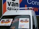 Van Roof Bars To Fit Sm Vans (pair) Up To 1300mm (w)