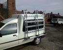 Glazier Van Side Rack Frail Ideal For The Sm Vans (1980mm (w) x 2000mm (h)
