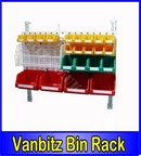 Louvered Van Bin Racking 1200x600mm - Static
