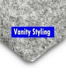 Trunkliner - 8 metres of Silver Van Side W Lining Trim (carpet)