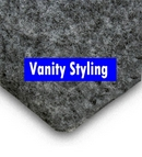 Trunkliner - 4 metres of Grey Van Side W Lining Trim (carpet)