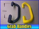 Van Minibus Taxi Grab Handle. Hi Viz Yellow or Black Universal fitment