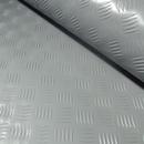 3x2mtr Grey Rubber Anti-Slip Chequered Van Floor Covering