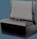 Double Tool Box Van Seat
