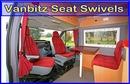 Volkwagen Volkswagen VW T5 Transporter Drivers O/S Offside (sportscraft) with handbrake brkt Bespoke Seat Swivel