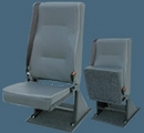 Single Flip-up Base Van Seat