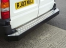 Ford Transit  BOX STEP (NON TOWING) WITH chequer TREAD