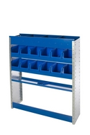 Tradesman 2.  Van Shelving and Racking Unit