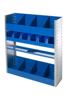 Tradesman 3.  Van Shelving and Racking Unit