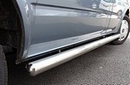 Ford Transit  SWB STAINLESS STEEL (CHROME) SIDE BAR 2.5