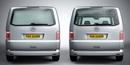 Citroen Berlingo 1996 - 2008 L1 H1 Twin Doors Window Blanks with brake light cut out ADV-VG77LS