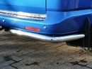 Renault Kangoo STAINLESS STEEL (CHROME) QUARTER BUMPER