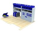 Citroen Dispatch 2016 onwards MV-L1-2 Internal Van Shelf Racking