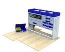 Citroen Dispatch 2007 - 2016 SV-L1-3 Internal Van Shelf Racking