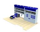 LDV Maxus 2005 - 2008 LV-L2-2 Internal Van Shelf Racking