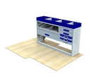 Vauxhall Movano 1998 - 2010 SV-L2-3 Internal Van Shelf Racking