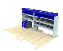 Vauxhall Movano 1998 - 2010 MV-L2-1 Internal Van Shelf Racking