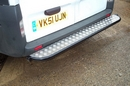 Renault Trafic (OCT 06 ON) REAR TUBE STEP PLATE