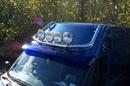 Merc Sprinter HIGH ROOF BLACK NYLON COATED LIGHT BAR 2.5