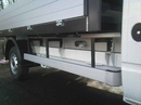 LDV Maxus TIPPER SIDE RAIL GUARD/STEP ALUMINIUM - PER PAIR