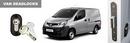 Toyota Proace 2016 onwards Barn Doors S-Series Secondary Van Deadlock