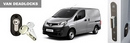 Nissan NV200 2009 onwards Barn Door S-Series Secondary Van Deadlock