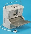 MAINS SUPPLY HOT WATER HAND WASHING UNIT