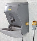 HOT WATER HAND WASHING UNIT FOR GENERATORS