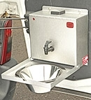 COMPACT HOT WATER HAND WASHING UNIT FOR MOTOR VEHICLES 12v